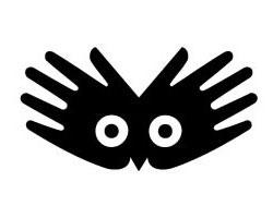 Дизайн логотипа руки глаза