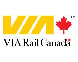 Логотип железнодорожной копании Канада