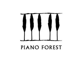 Изящный логотип Пианино