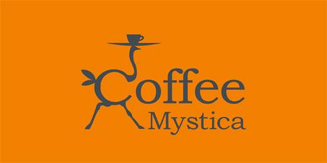 Логотип кафе «Кофе Мистика» («Coffee mystica»)