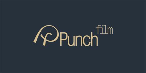 Логотип «Punch Film» разработан в студии logodesigner